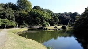 Formal French Garden - shinjuku gyoen tokyostreetview