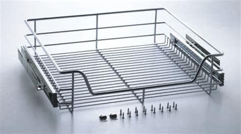 Wire Basket Sliding Drawers by Drawer Slides Sliding Wire Basket Drawers