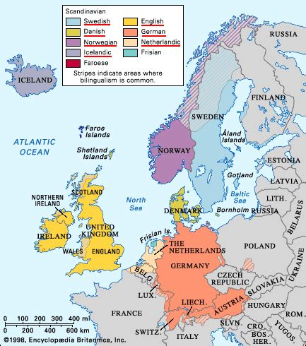 verbix languages languages/germanic