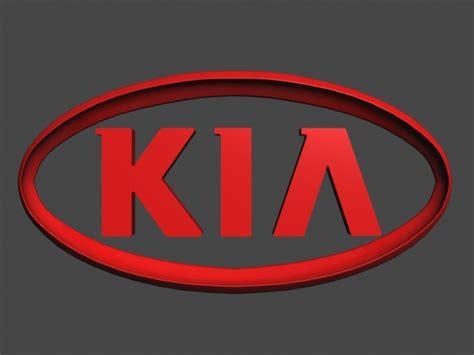 Different Kia Logo 3d Kia Logo Cgtrader