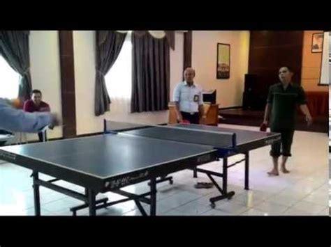 Meja Pingpong pingpong lucu olahraga tenis meja lucu