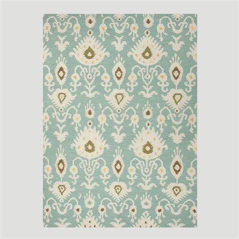 rugs world market aqua jatana flat woven wool rug world market