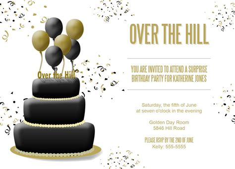 the hill birthday invitations dolanpedia