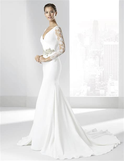 ver imagenes de vestidos de novia con manga vestidos de novia de manga larga primavera verano 2018