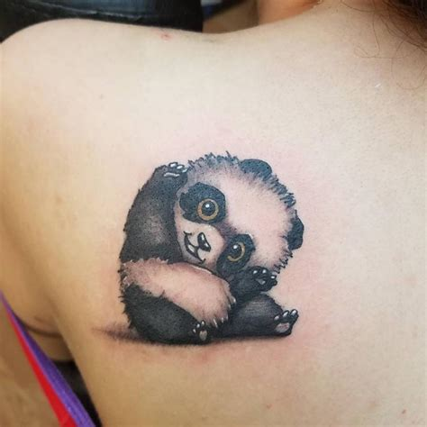 40 irresistibly unique panda bear tattoo ideas to steal