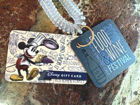 Disney Gift Card Expiration - coast to coast disney gift card is designed for festivals disney parks blog