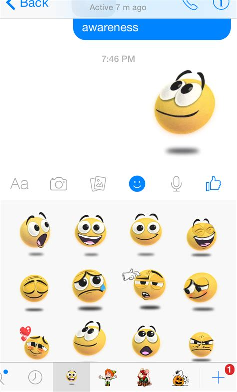Messenger Stickers Meaning