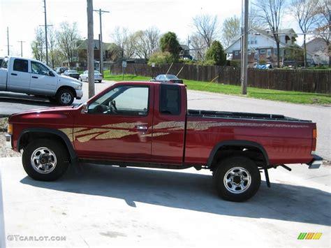 1995 nissan truck 1995 cherry red pearl metallic nissan hardbody truck xe