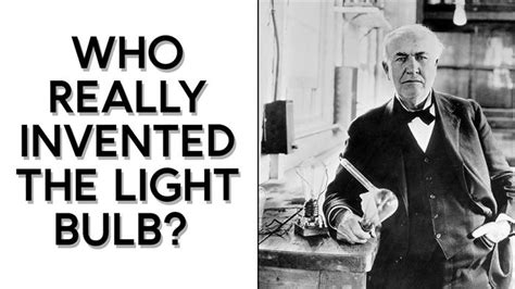 who invented the electric light bulb who invented the light bulb