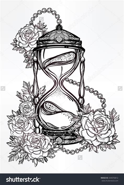 hand drawn tattoo designs hourglass drawing www pixshark images galleries