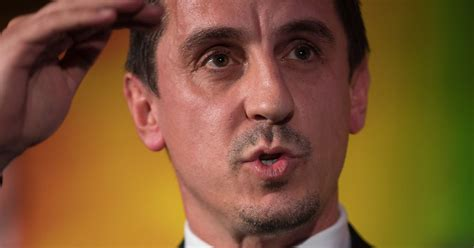 gary neville takes swipe at manchester united legend gary neville takes another swipe