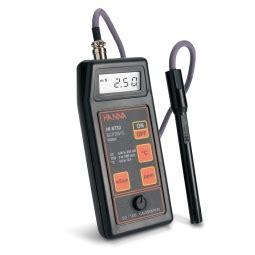 Portable Conductivity Meter Range 0 To 19990 Hi 86304 hi9033 portable multi range conductivity meter with