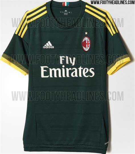 Sweater Ac Milan 2016 2017 Leaked Adidas Green leaked utd real madrid milan bayern munich