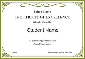 certificate templates free certificate template sles and templates