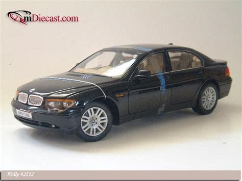 Diecast Bmw 745i By Welly Original welly 2002 bmw 745i black 2512 in 1 18 scale mdiecast