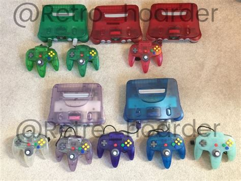 n64 console colors nintendo 64 console colors www pixshark images
