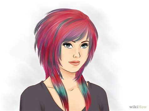 emo hairstyles wikihow style scene hair my hair style and girls
