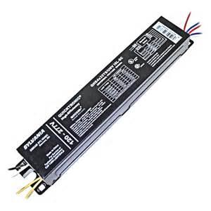 electronic ballast fluorescent light fixtures sylvania 49867 4 l t8 electronic ballast qhe4x32t8 unv