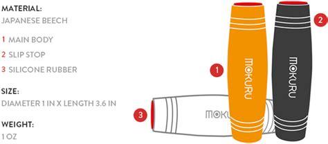 Mokuru Stress Relief Mainan Khusus mokuru desktop flip rollver fidget stick relieve