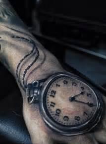 Tatuagem caveira e relogio pictures to pin on pinterest