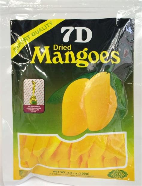 7d Dried Mango 7d dried mangoes 100g from buy asian food 4u