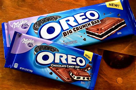 top candy bars the new oreo chocolate bars might be the best thing ever made