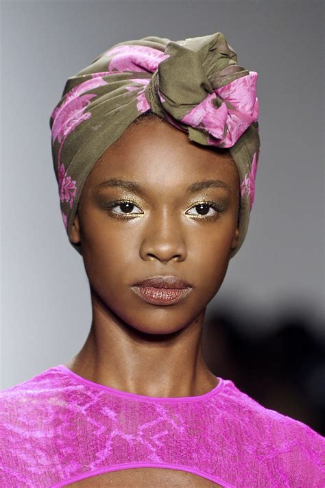 pinterest black woman with headscarf headscarf hair accessory trend 2012 fashion inspo