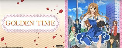 golden time türk anime tv golden time cast images the voice actors