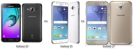 Samsung J3 J5 Dan J7 Samsung 2016 Galaxy J3 Vs J5 Vs J7 Comparison The J