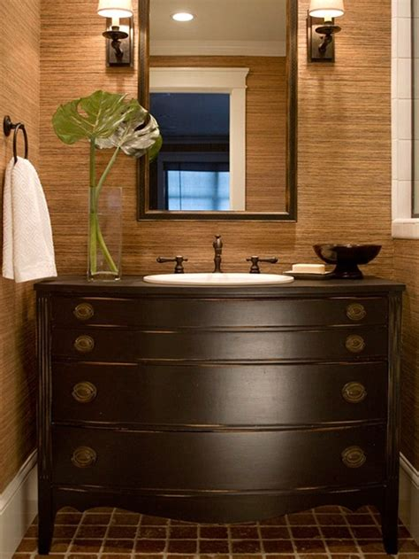 dressers as bathroom vanities bhg centsational style