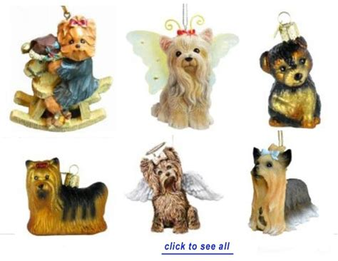 gifts for yorkie yorkie cards terrier ornaments
