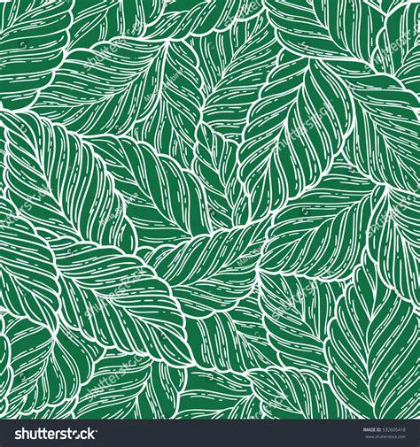 pattern elegant illustrator elegant seamless pattern leaves vector illustration stock