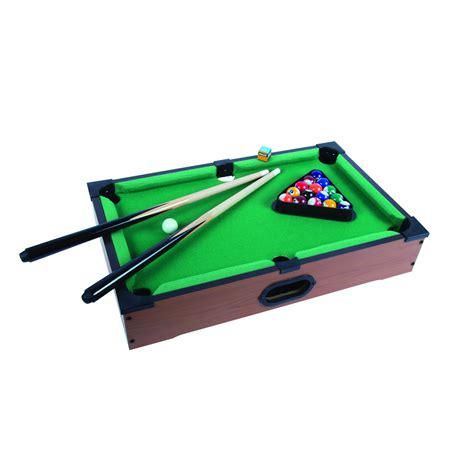 mini portable desktop tabletop pool billiard table