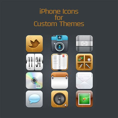 themes for iphone icons free iphone icons for custom themes pngs
