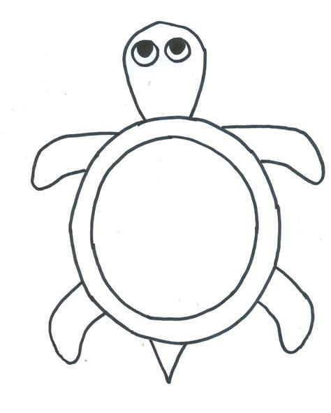 turtle template turtle template printable 9722