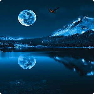 blue moon live wallpaper hd android apps on google play