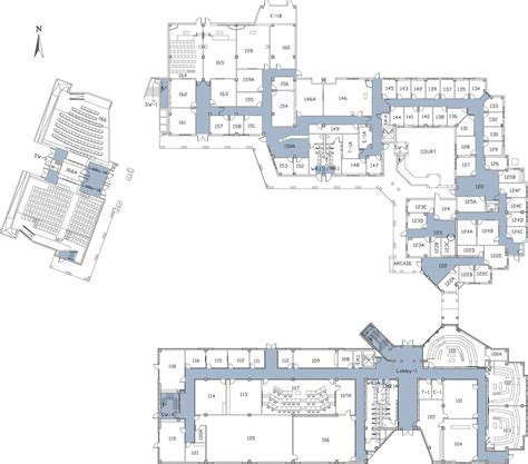Csu Building Floor Plans | 1st floor california state university stanislaus