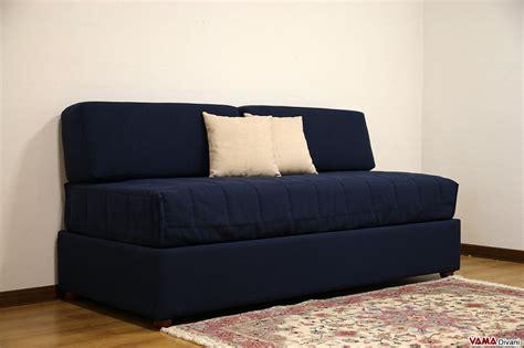 divano letto senza braccioli letto singolo contenitore senza testata vama divani