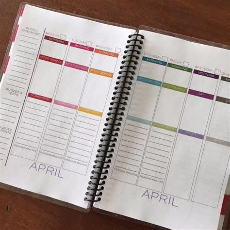 diy planner templates free sanjonmotel 1000 ideas about lesson plan templates on pinterest