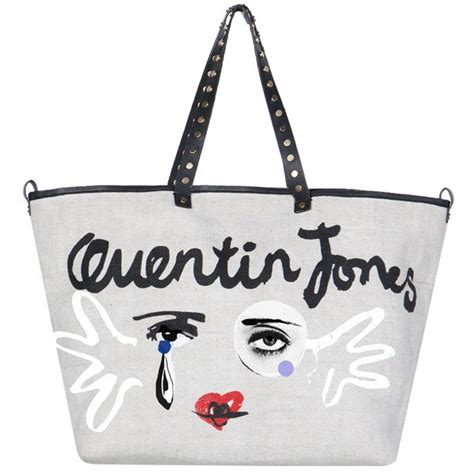 Evas Fashionable And Charitable Bag by Quentin Jones And Intropia Fashionable Bag For Charity