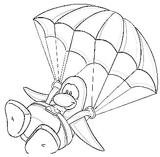 Parachute Coloring Pages Parachute Coloring Pages by Parachute Coloring Pages