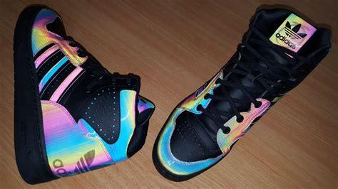 adidas originals shoes by ora black rainbow