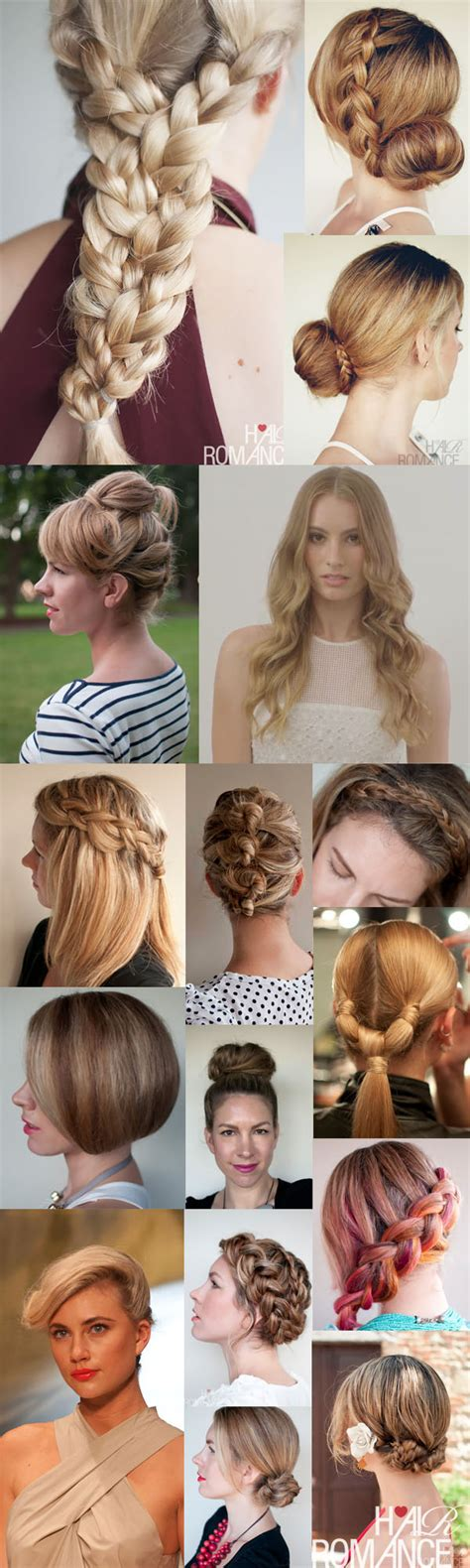 hairstyles for party tutorials new year s party hairspiration hair romance