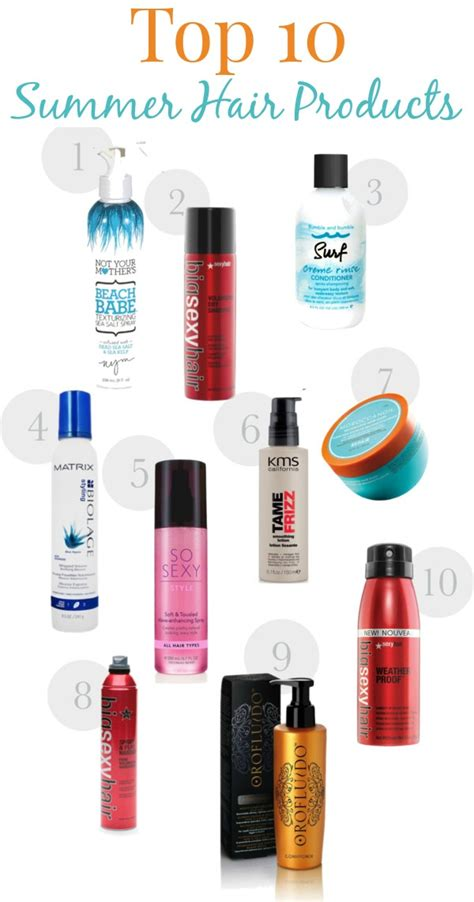 top 10 best hair moisturizer 10 summer hair products savvy sassy moms