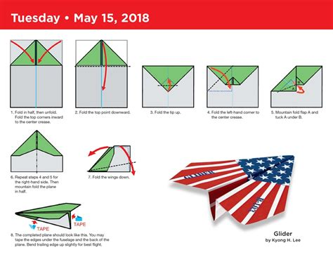 How To Fold Paper Planes - paper airplane fold a day 2018 calendar