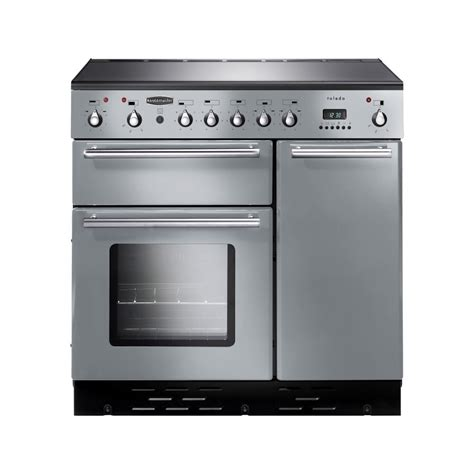 silver range rangemaster toledo 90 electric induction range cooker silver