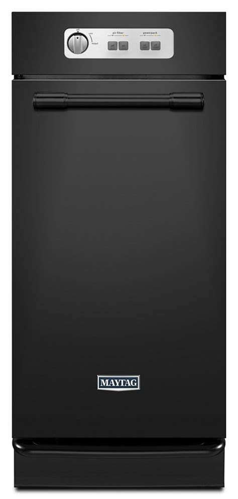 mtuc7500afb maytag 15 quot built in trash compactor black on mtuc7500afb maytag