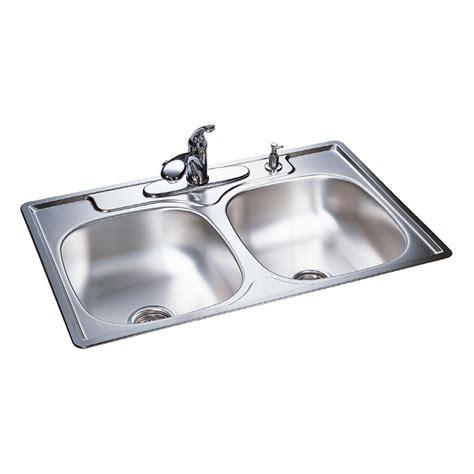 shop franke basin stainless steel topmount kitchen