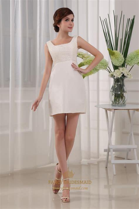 ivory taffeta beaded bust square neck prom dress