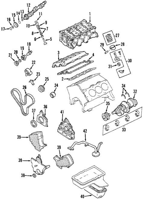 isuzu trooper engine diagram parts 174 isuzu engine camshaft timing idler gear